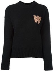 Wood Wood 'Alicia' Pullover Black