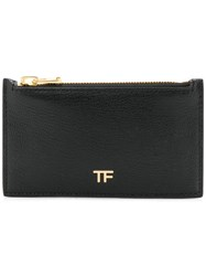Tom Ford Logo Card Holder Black