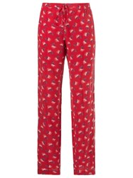 Talie Nk Printed Trousers Red