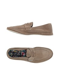 Le Crown Loafers Khaki