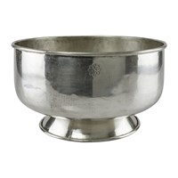 Day Birger Et Mikkelsen Carved Base Bowl Silver Plated