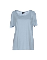 Selected Femme T Shirts Sky Blue