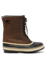 Sorel 1964 Leather Ski Boots Brown