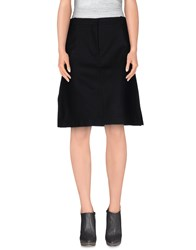 Rika Skirts Knee Length Skirts Women Black