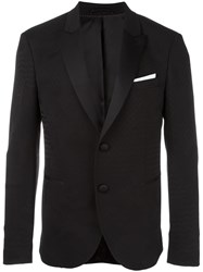 Neil Barrett Shawl Collar Blazer Black