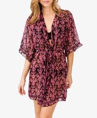 Forever 21 Damask Print Sleep Robe