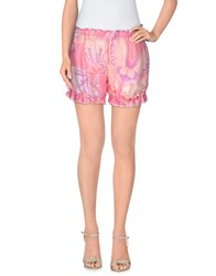 Miss Naory Trousers Shorts Women Light Purple