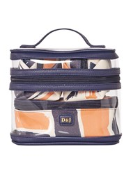 Dickins And Jones Triple Vanity Case Multi Coloured Multi Coloured