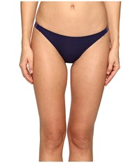 La Perla Plastic Dream Low Rise Brief Navy Blue Women's Swimwear