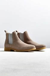 Shoe The Bear Gore Suede Chelsea Boot Grey
