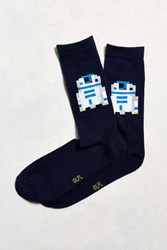 Urban Outfitters R2 D2 Sock Navy