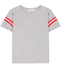 Rag And Bone Vintage Cotton T Shirt Grey