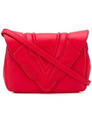 Elena Ghisellini 'Felina' Cross Bag Red