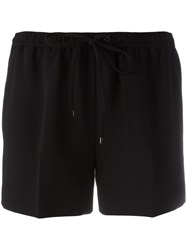 Alexander Wang Drawstring Tailored Shorts Black