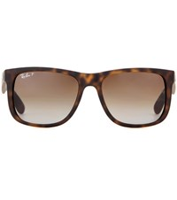 Ray Ban Rb4165 Wayfarer Sunglasses Brown