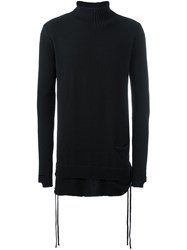 Andrea Ya'aqov Turtle Neck Jumper Black
