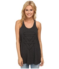 Burton Martini Knit Tank True Black Heather Women's Sleeveless
