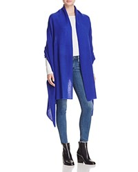 Bloomingdale's C By Cashmere Travel Wrap Cobalt