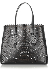 Alaa A Vienna Laser Cut Leather Tote