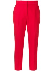 Msgm Ankle Length Tailored Trousers