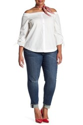 Kut From The Kloth Asher Straight Leg Jean Plus Size Blue