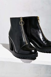 Vagabond Grace Front Zip Ankle Boot Black