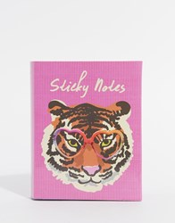 Paperchase Wild At Heart Sticky Notes Tabs Multi