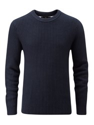 Henri Lloyd Men's Felsted Crew Neck Knit Navy