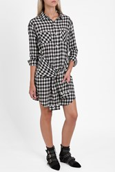 Current Elliott Women S The Twist Shirt Dress Boutique1 Sher Plaid