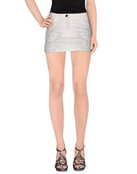 Patrizia Pepe Denim Denim Skirts Women White