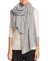 Bloomingdale's C By Donegal Cashmere Scarf 100 Exclusive Gray Funfetti