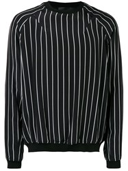 Haider Ackermann Striped Sweatshirt Black