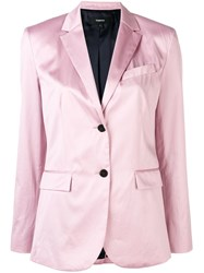 Theory Fitted Blazer Pink