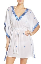 Tommy Bahama Women's Embroidered Cover Up Tunic