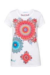 Desigual T Shirt Mary White