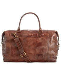 Patricia Nash Men's Leather Roma Duffle Bag Chocolate
