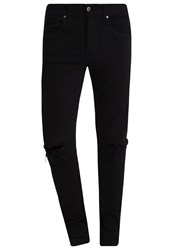 Dr. Denim Dr.Denim Leroy Slim Fit Jeans Black Black Denim