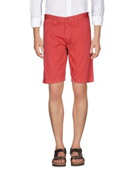Refrigue Trousers Bermuda Shorts Red