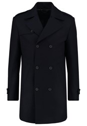 Bertoni Kongsberg Classic Coat Dress Blue Dark Blue