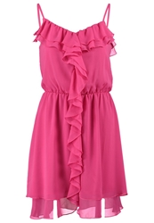 Morgan Rimel.N Cocktail Dress Party Dress Fuchsia Neon Pink