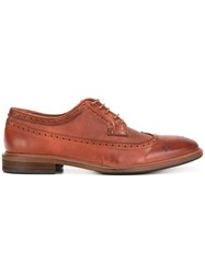 Paul Smith Ps By Brogue Shoes Brown