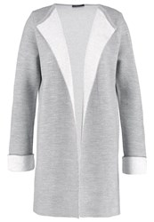 Wallis Cardigan Dark Grey Light Grey
