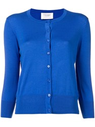 Snobby Sheep Buttoned Up Cardigan Blue