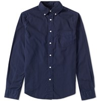 Gant Rugger Classic Button Down Oxford Shirt Blue