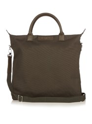 Want Les Essentiels O'hare Cotton Canvas Shopper Tote Khaki
