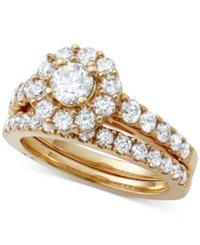 Marchesa Certified Diamond Bridal Set 2 Ct. T.W. In 18K Gold White Gold Or Rose Gold Yellow Gold
