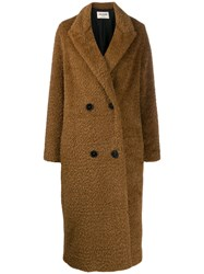 Zadig And Voltaire Fashion Show D Miko Coat Brown