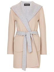 Betty Barclay Reversible Coat Natural Grey