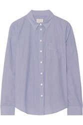 Band Of Outsiders Easy Striped Cotton Shirt