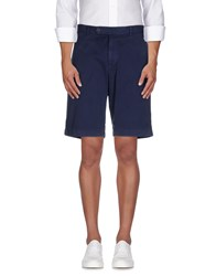 Brooks Brothers Trousers Bermuda Shorts Men Slate Blue